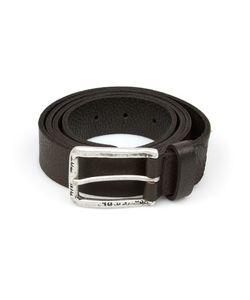 SCUNZANI IVO | Leather Belt From Featuring A Tone Buckle