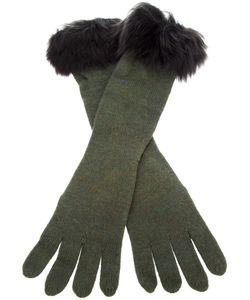 Ralph Lauren Blue | Fur Trim Glove