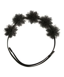 GIGI BURRIS MILLINERY | Ободок Shadow Flora Crown