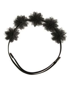 GIGI BURRIS MILLINERY | Ободок Shadow Flora Crown