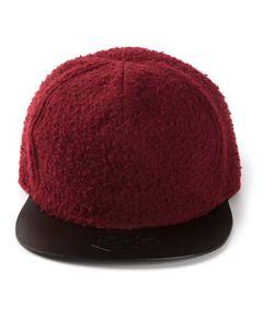 SUPER D | Wool Blend Baseball Cap From