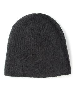 WARM-ME | Dark Cashmere Cozy-4 Knit Beanie From