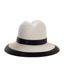 GIGI BURRIS MILLINERY | And Straw Nell Striped Fedora From