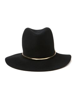 JANESSA LEONE | And Tone Wool And Cotton Stephen Fedora From