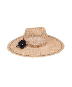 LOLA HATS | Шляпа С Цветочной Аппликацией