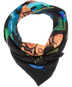 CLEO FERIN MERCURY | Silk Scarf From Featuring A Coloured Snake And Print