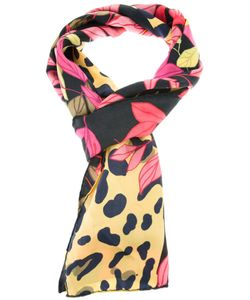 CLEO FERIN MERCURY | Silk Scarf From Featuring A Coloured And Jaguar Print
