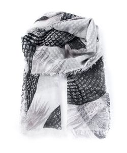 Friendly Hunting | Cashmere Snake Print Scarf From
