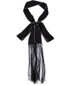 Sharon Wauchob | Silk Fringed Scarf From