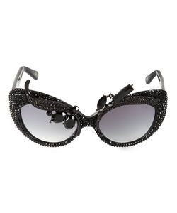A-MORIR | Embellished Cats-Eye Sunglasses