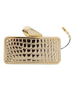 Kotur   -Tone Get Smart Croc Clutch From