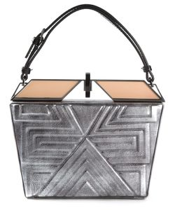 Tonya Hawkes | -Tone Leather Lucien Clutch From
