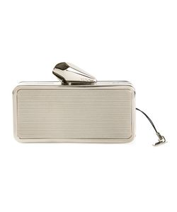 Kotur | -Tone Brass Box Clutch From