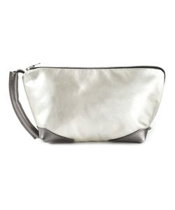 Jas-M.B. | -Tone Leather Brief Trip Clutch From Jas M