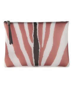 GUM | And Zebra Print Clutch From