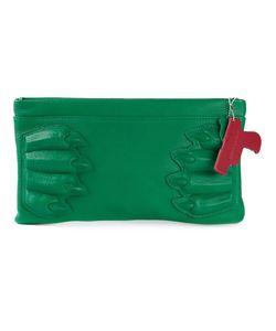 VLIEGER&VANDAM | Calf Leather Paw Clutch From