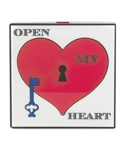 Yazbukey | And Open My Heart Clutch From