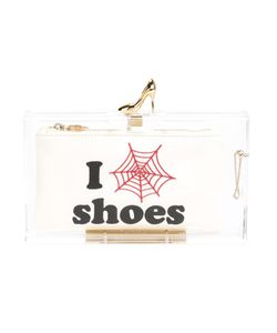 Charlotte Olympia | Клатч Pandora Loves Shoes