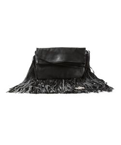 Barbara Bonner | Lambskin Fringed Crossbody Bag From