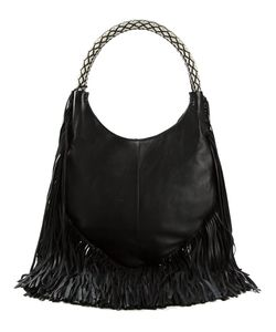 Barbara Bonner | Leather Lilith Tribal Shoulder Bag From