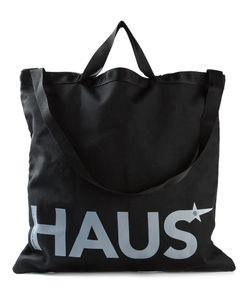 HAUS | Logo Print Shopping Bag From