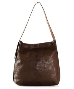 B MAY | Dark Sheepskin Classic Shoulder Bag From