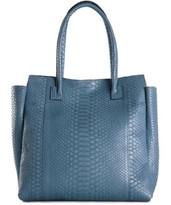 B MAY | Sky Python Skin Tote From