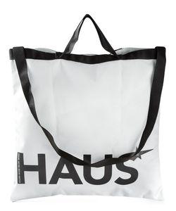 HAUS | Сумка-Тоут С Принтом-Логотипа