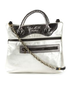 Jas-M.B. | -Tone Leather Mini Move On Tote From Jas M