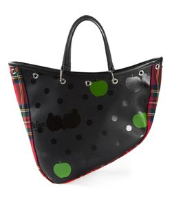 THE BEATLES X COMME DES GARCONS | Multicoloured Wool Mixed Print Boat Bag From
