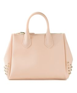 GUM | Nude And Tone Studded Tote From