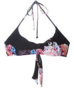 LILY AND LIONEL | Multicoloured Sirena Print Bikini Top From