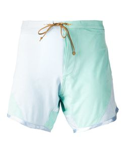 THADDEUS O'NEIL | Printed Swim Shorts From