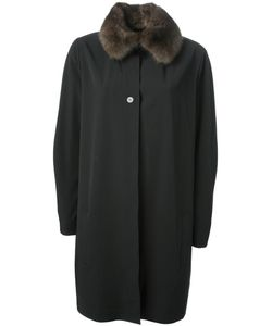 Liska | Пальто С Воротником Из Соболиного Меха