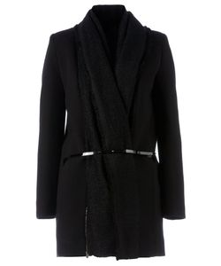 Sharon Wauchob | Knitted Detail Belted Coat