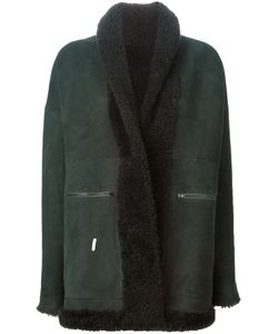 SPRUNG FRERES | Sheepskin Buttoned Up Coat From