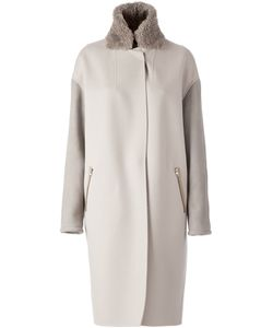 SPRUNG FRERES | Wool Cocoon Coat From