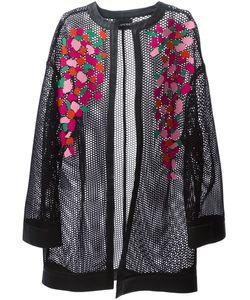 Blancha | Сетчатое Пальто С Абстрактным Принтом