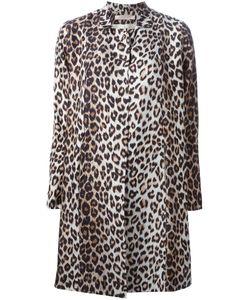 LA PRESTIC OUISTON | And Silk Leopard Print Coat From