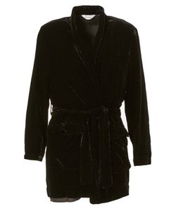 DIGAWEL | Belted Velvet Coat From