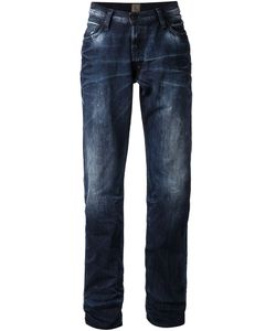 PRPS Goods & Co | Indigo Cotton Classic Distressed Jeans From Prps Goods And Co