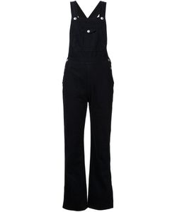 Alexa Chung for AG | Denim Alexa Chung Tennessee Dungarees From Adriano Goldschmied Featuring A Button Fastening An Ankle Length And A Loose Fit