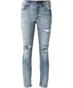 ROAD TO AWE | Distressed Skinny Jeans