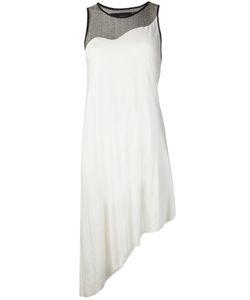 ODD.   Платье С Полупрозрачными Вставками