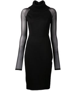 SALLY LAPOINTE | Turtleneck Body Con Dress