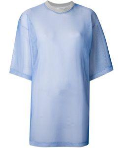 Andrea Crews   Сетчатая Платье-Рубашка