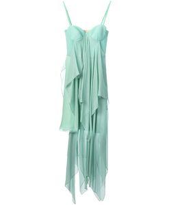 Marios Schwab | Многослойное Длинное Платье
