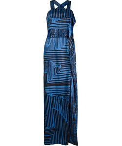 FERNANDA YAMAMOTO | Длинное Платье С Абстрактным Принтом