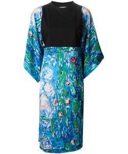 Andrea Crews | And Multicoloured Lily Print Kimono Dress From