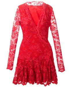 Balensi | Кружевное Платье С V-Вырезом